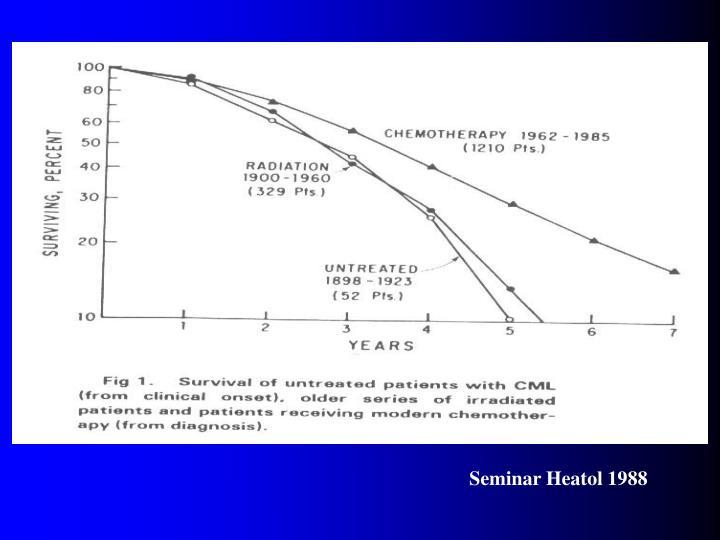 Seminar Heatol 1988