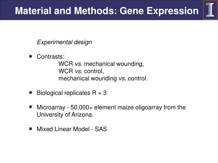 Material and Methods: Gene Expression