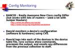 config monitoring