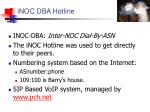inoc dba hotline