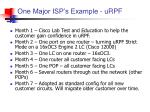 one major isp s example urpf
