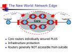the new world network edge