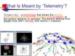 what is meant by telemetry