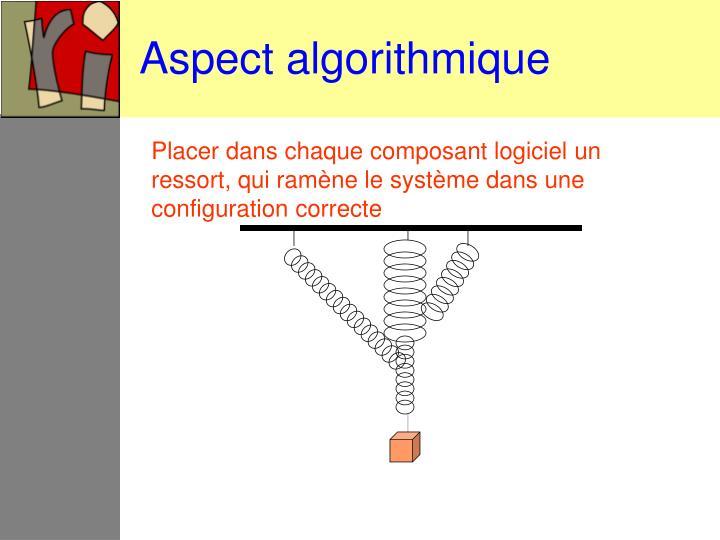 Aspect algorithmique