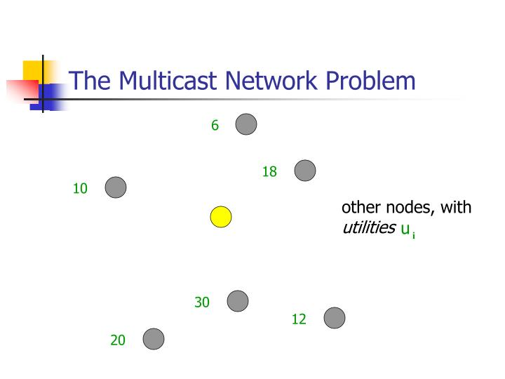 The multicast network problem1