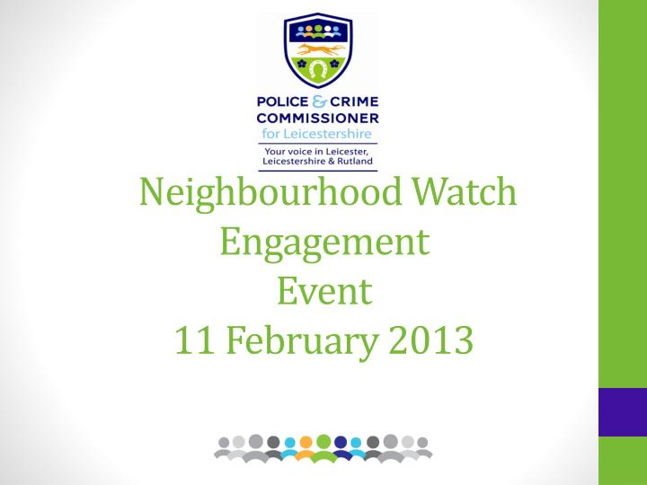neighbourhood watch engagement event 11 february 2013 n.
