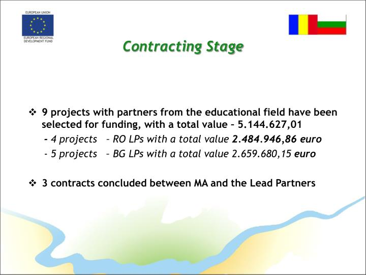 Contracting Stage