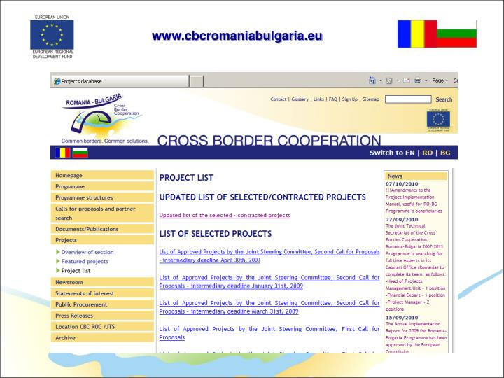 www.cbcromaniabulgaria.eu
