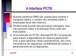 a interface pcte5