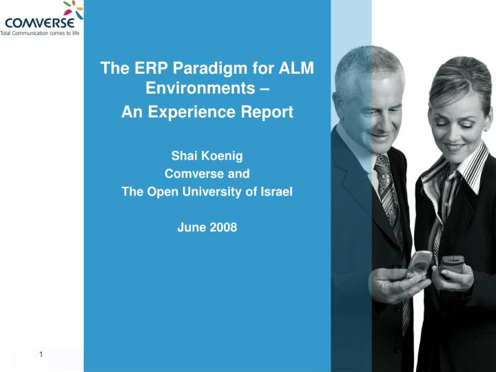 The ERP Paradigm for ALM Environments –
