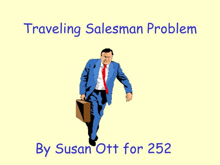 traveling salesman problem n.