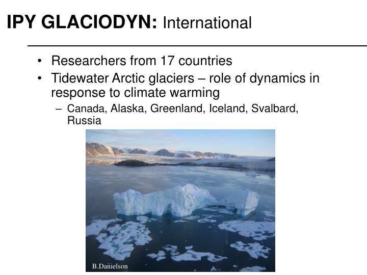 IPY GLACIODYN: