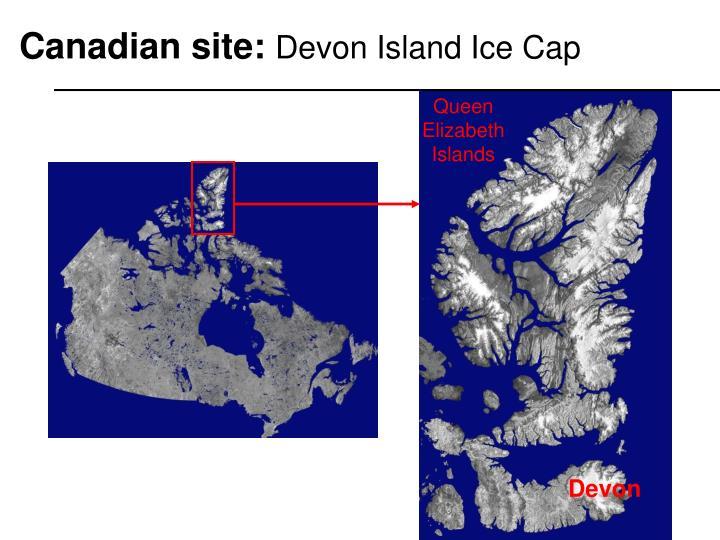 Canadian site: