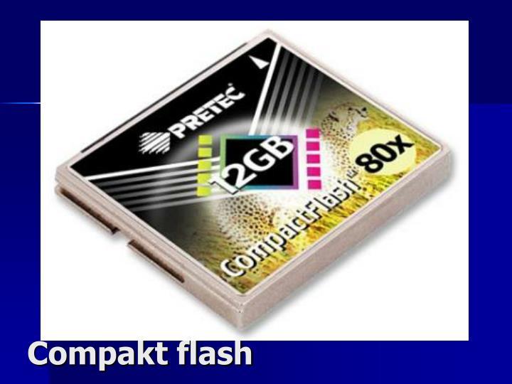 Compakt flash