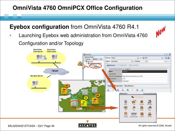 omnivista 4760 client