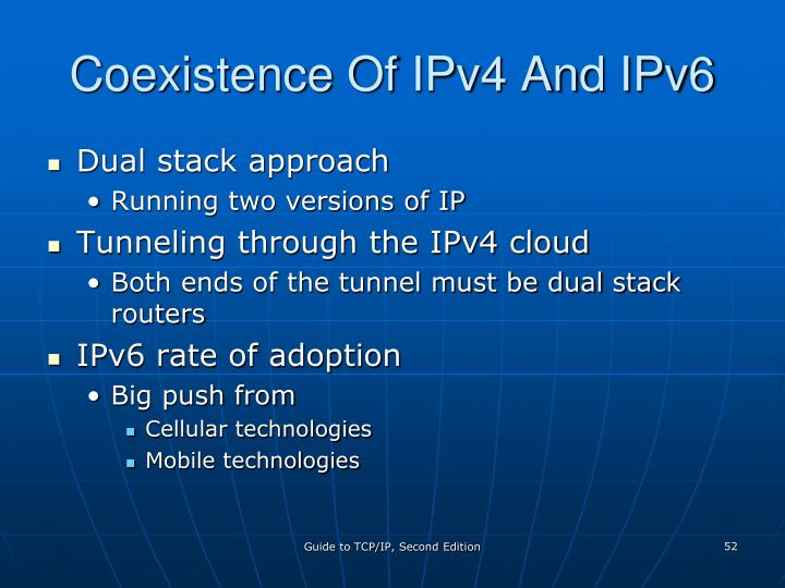 Coexistence Of IPv4 And IPv6