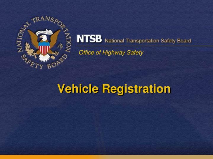 Vehicle Registration