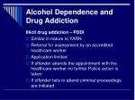 alcohol dependence and drug addiction8