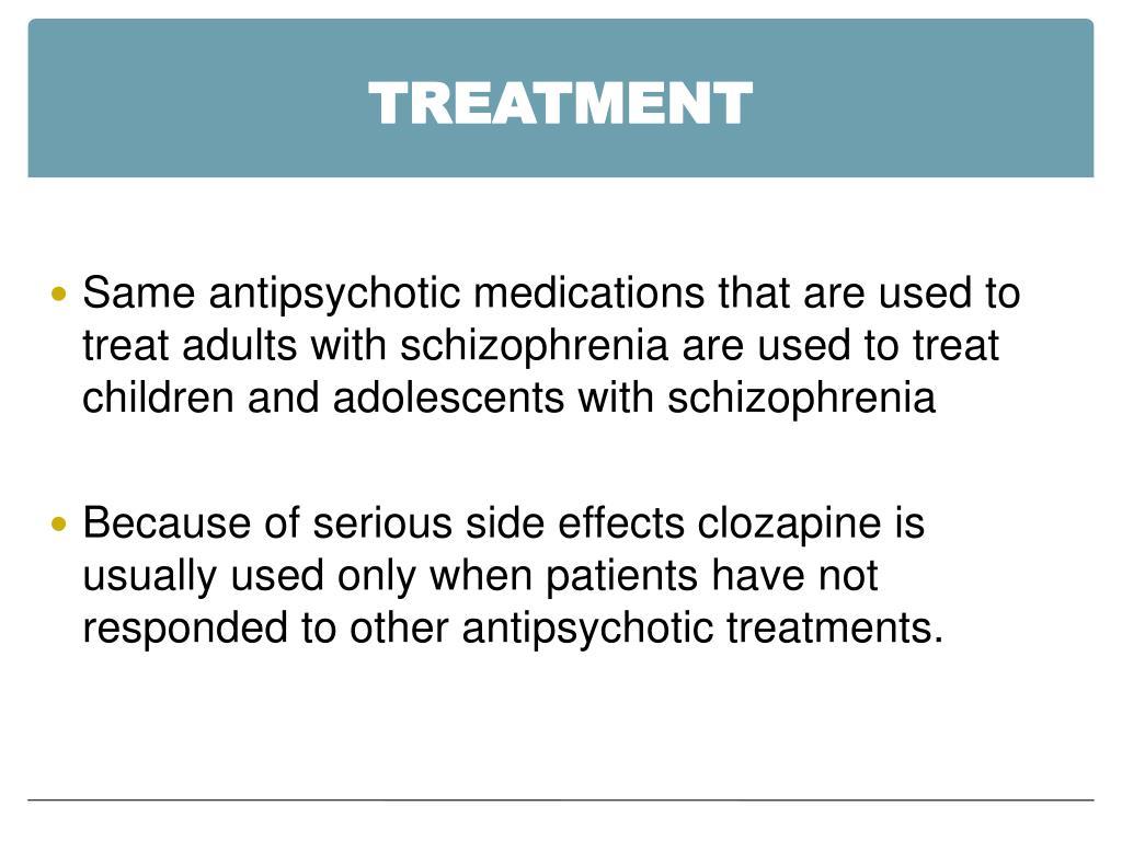 PPT - Childhood Schizophrenia PowerPoint Presentation - ID