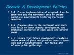 growth development policies