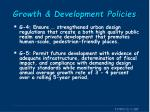 growth development policies1