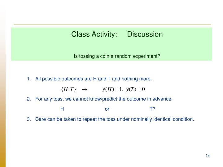 Class Activity:Discussion