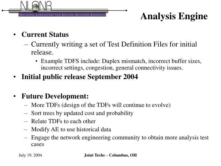Analysis Engine