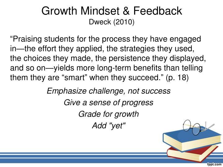 Growth Mindset & Feedback