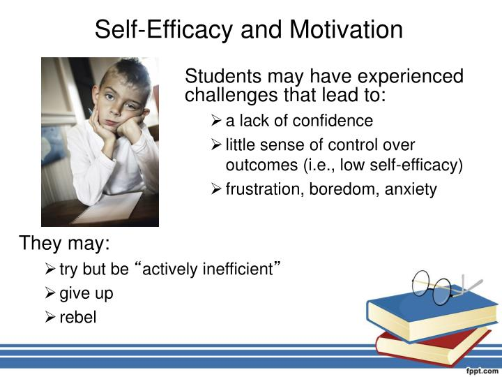 Self-Efficacy and Motivation