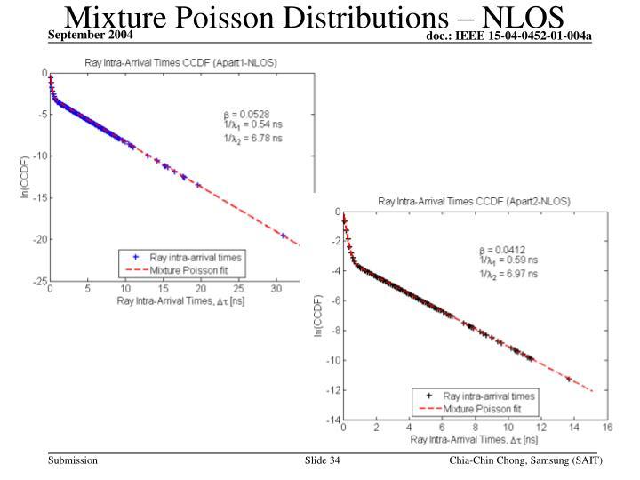 Mixture Poisson Distributions – NLOS