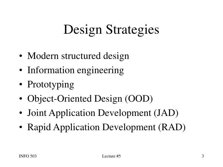 Design strategies