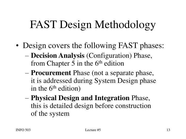 FAST Design Methodology