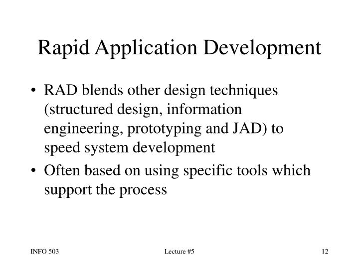 Rapid Application Development