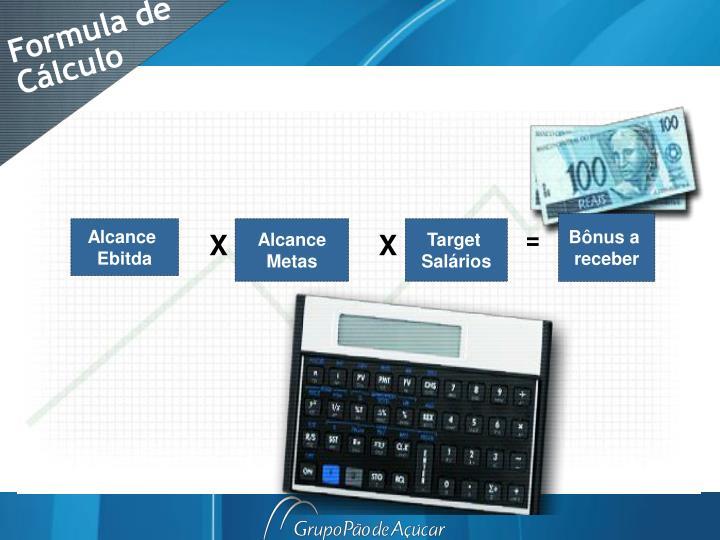 Formula de Cálculo