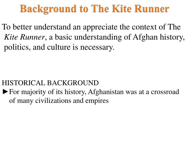 the people in the kite runner of the afghanistan history A sweeping story of family, love, and friendship told against the devastating backdrop of the history of afghanistan over the last thirty years the kite runner.