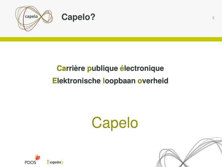 Capelo?