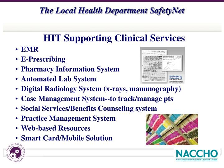 HIT Supporting Clinical Services