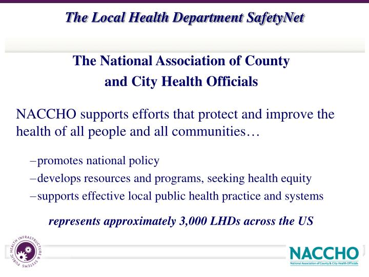 The National Association of County