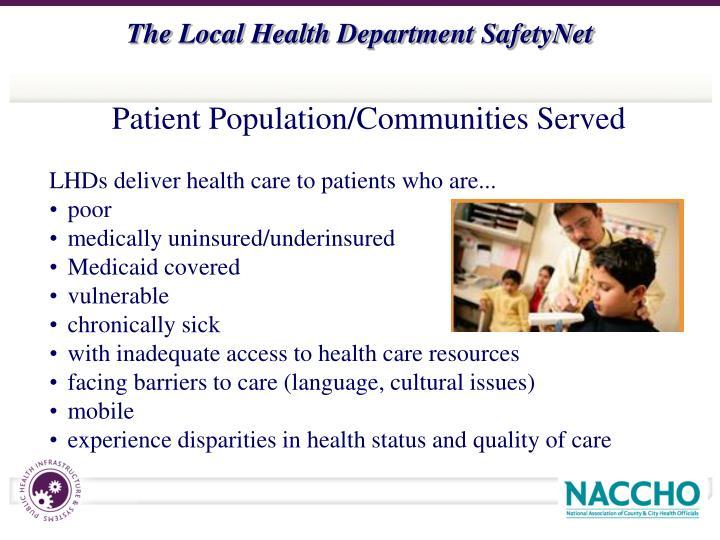 Patient Population/Communities Served
