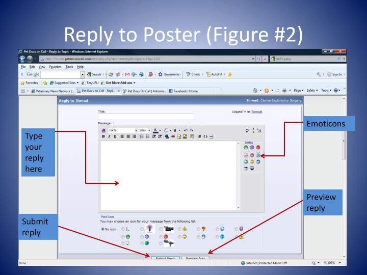 Reply to Poster (Figure #2)