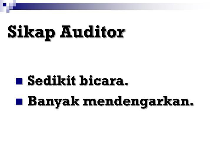 Sikap Auditor