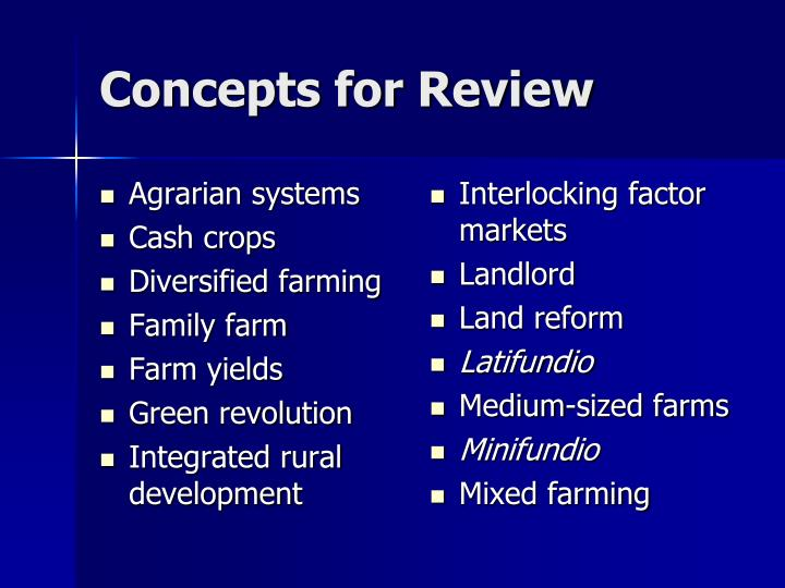 the green revolution and land reforms The green revolution have been a the green revolutions also have improving the incentive structure and functioning of markets and refocusing on land reforms.