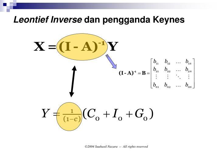 Leontief Inverse