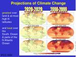 projections of climate change1