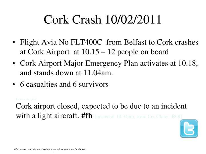 Cork Crash 10/02/2011