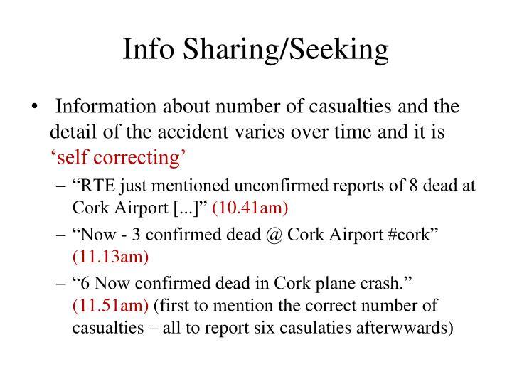 Info Sharing/Seeking