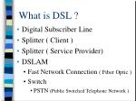 what is dsl