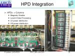 hpd integration