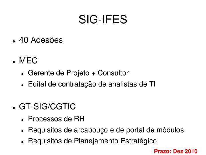SIG-IFES