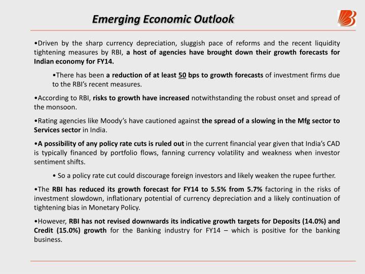 Emerging Economic Outlook